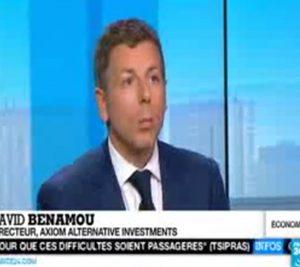David Benamou sur France 24 – Grèce
